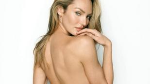 Hát ez meg milyen bugyi Candice Swanepoelon?