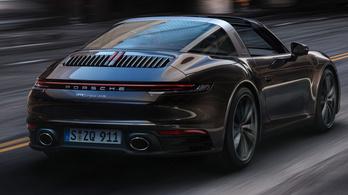 Megmutatták a legújabb Porsche 911-est, a Targát
