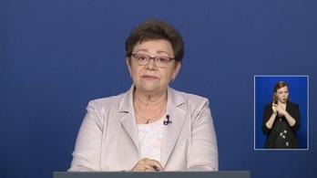 Müller Cecília: Akkor mehet a gyerek táborba, ha igazoltan egészséges - az operatív törzs május 18-i tájékoztatója