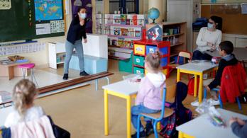 Pozitív lett egy iskolás tesztje, hét iskolát bezártak Észak-Franciaországban