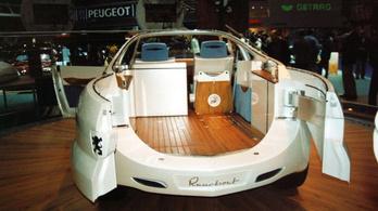 A Peugeot, ami hajó akart lenni, de nem sikerült neki