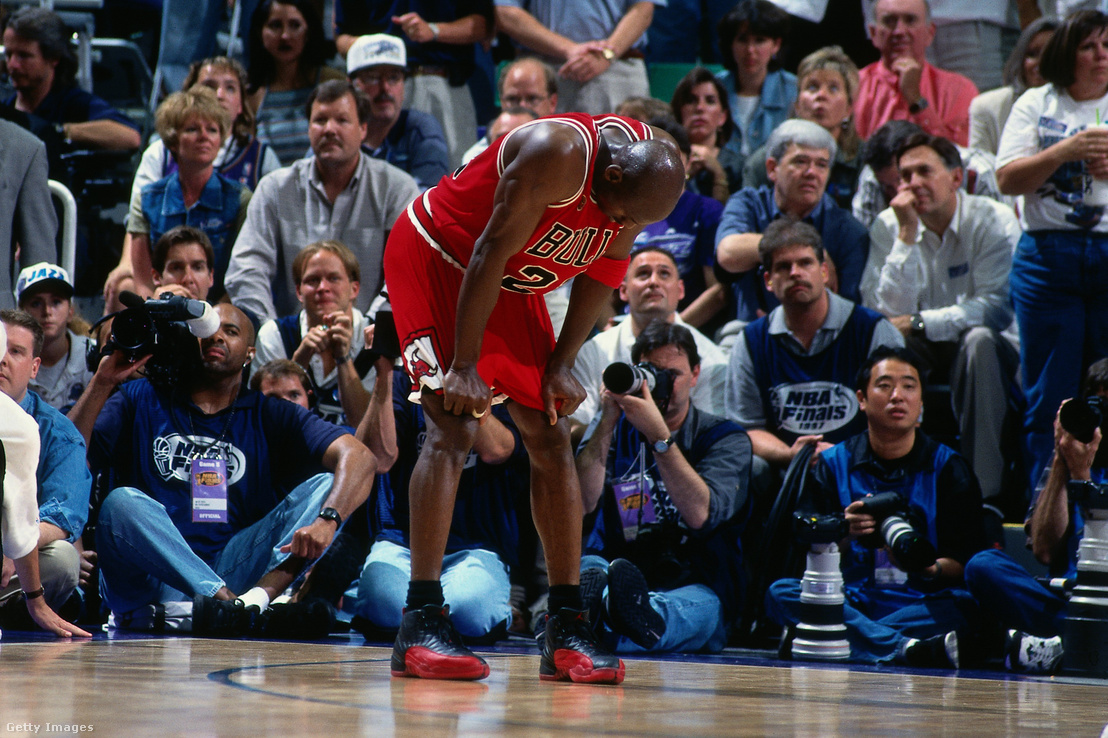 Jordan a másnapi meccsen