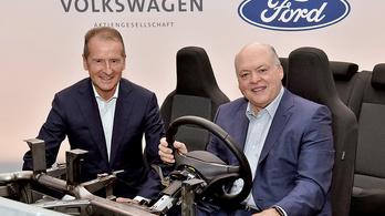 Jól haladnak a Ford-VW tárgyalások