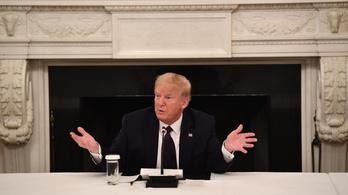 Trump olyan szert szed a koronavírus ellen, ami az amerikai szakhatóság szerint hatástalan és veszélyes