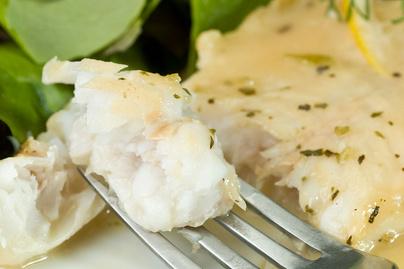 Krémes citromos szószban sült halfilé – Puhábbra sül, mint a csirkehús