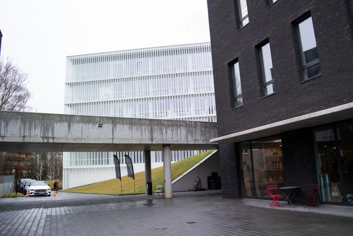 A MOME új épületegyüttesét 2019 szeptemberében adták át