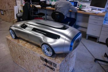 Filczer Balázs munkája: ma már a Mercedes tervezője, az ő kézjegyét is viseli a GLB