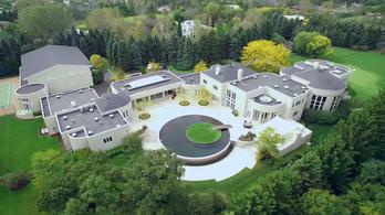 Michael Jordan eladhatatlan 5200 négyzetméteres luxusháza