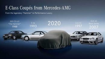 Új kétajtós Mercedesek jönnek a hónap végén