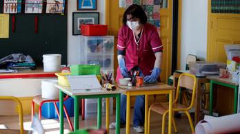 Hetven iskolát bezártak Franciaországban koronavírus-veszély miatt