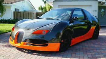 Egy amerikai férfi megmutatta: Civicből is lehet Bugattit csinálni