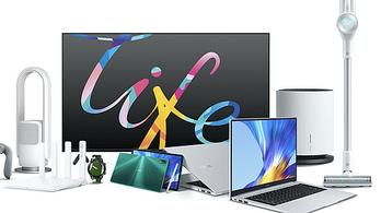 Új tabletet, laptopot és háztartási kisgépeket is bejelentett a Honor