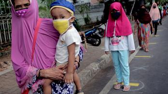 Népességrobbanást hozhat Indonéziában a koronavírus-járvány