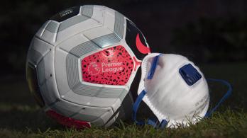 Sorra találják a koronavírus-fertőzötteket az angol bajnokságban
