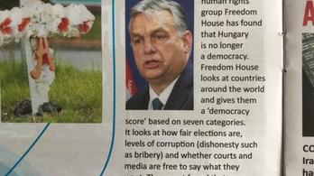 A brit iskolaújságban is arról írnak, hogy Magyarország már nem demokrácia