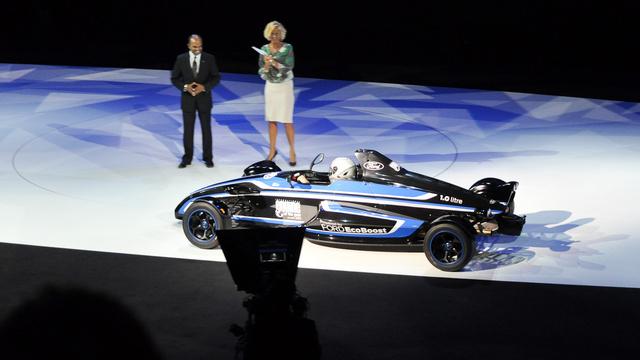 Nem a Nordschleife, csak egy amszterdami színpad jutott most a Formula Fordnak