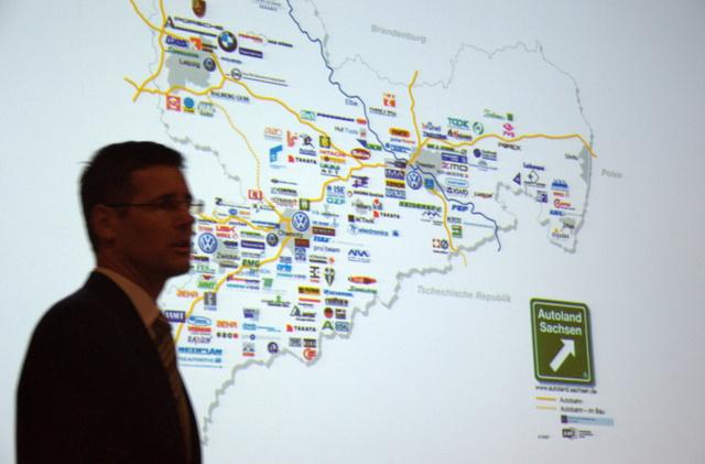 Ilyen sűrű az autóipari cégek koncentrációja a régióban (Szászország)