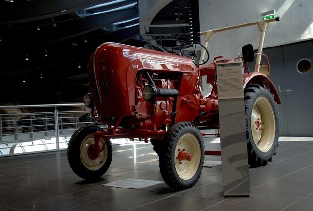 A múzeum egyik nagyon szép darabja, a Porsche Junior