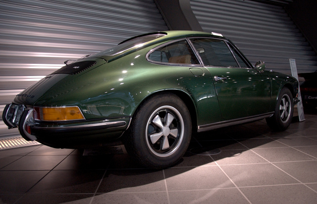 Ferry Porsche kedvesének, Dorotheának a 911-ese, megőrzött állapotban