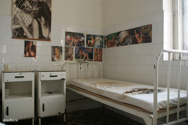 Fekvőhely az IMEI egyik kórtermében