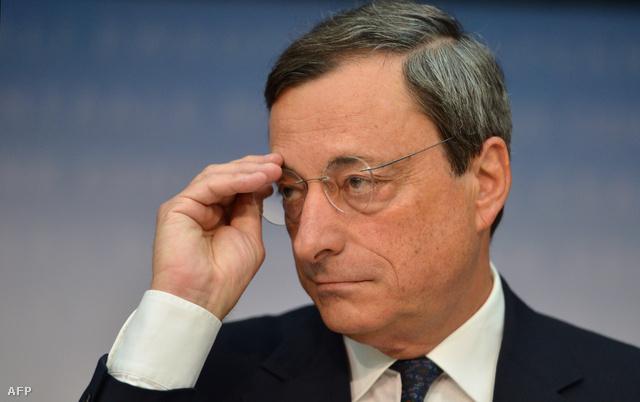 Mario Draghi. Az EKB bevetheti a nagyágyúkat
