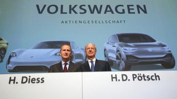 Kilencmillió eurót fizet a Volkswagen, hogy a bíróság hagyja békén a vezetőiket dízelbotrányügyben