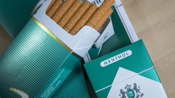 Mától tilos a mentolos cigaretta az egész EU-ban
