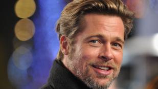 Brad Pitt sármja még egy fél perces videóüzenetben is átjön