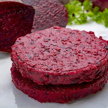 Isteni, szaftos hamburger hús nélkül – Az ízekben gazdag pogácsa céklából készül