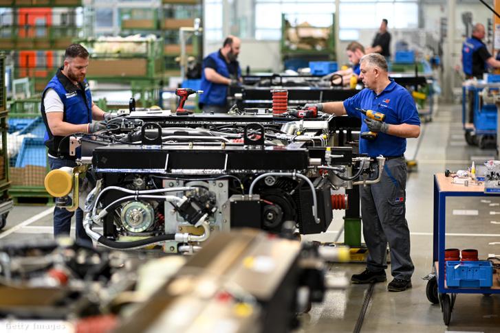 A Rolls Royce üzeme Németországban 2020 februárjában