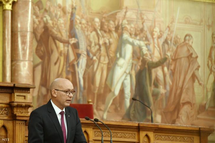Péterfalvi Attila, a Nemzeti Adatvédelmi és Információszabadság Hatóság elnöke
