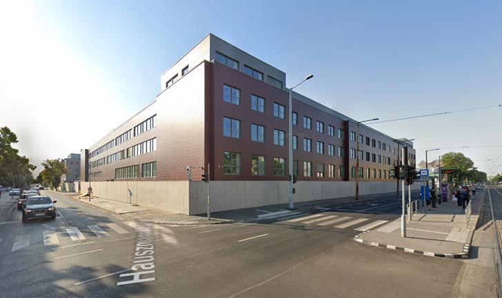 TIBEK épülete a budapesti Fehérvári úton