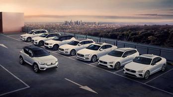 Nem készül több Volvo 180 km/h feletti végsebességgel