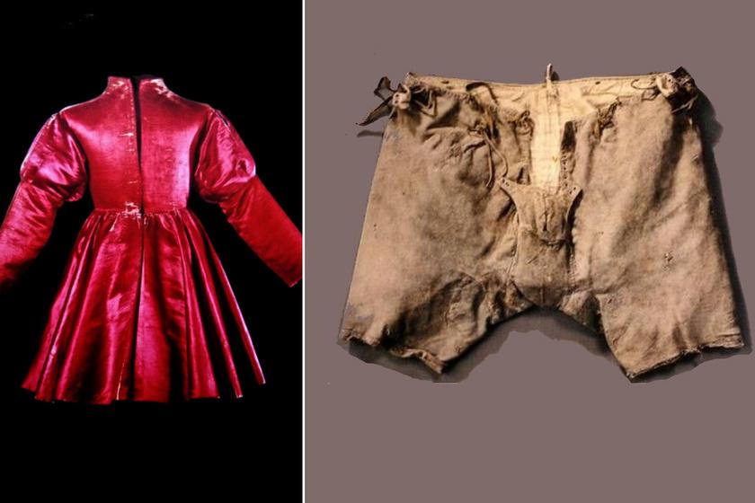 8 máig megmaradt középkori ruhadarab izgalmas története: van, akinek az alsógatyáját őrizték meg