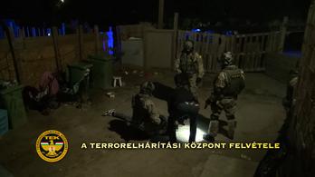 Egyszerre hét helyen csapott le a rendőrség és a TEK Pest megyében
