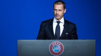 Egymillió dollárban is fogadna az UEFA elnöke, hogy jövőre lesz Eb