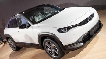 Kezdődik az elektromos Mazda gyártása