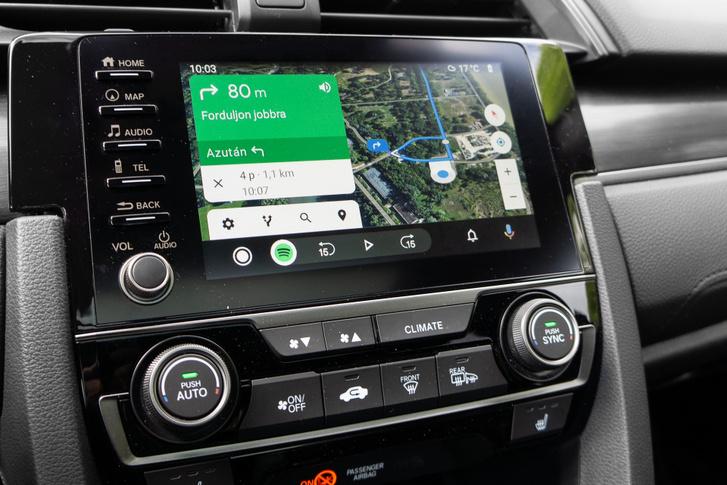 Gyorsan összekapcsolódik az Android autóval, de az ikonját kicsit elrejtették