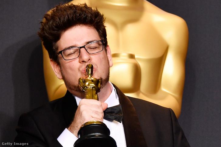 Deák Kristóf az Oscar-díjátadón 2017. február 26-án
