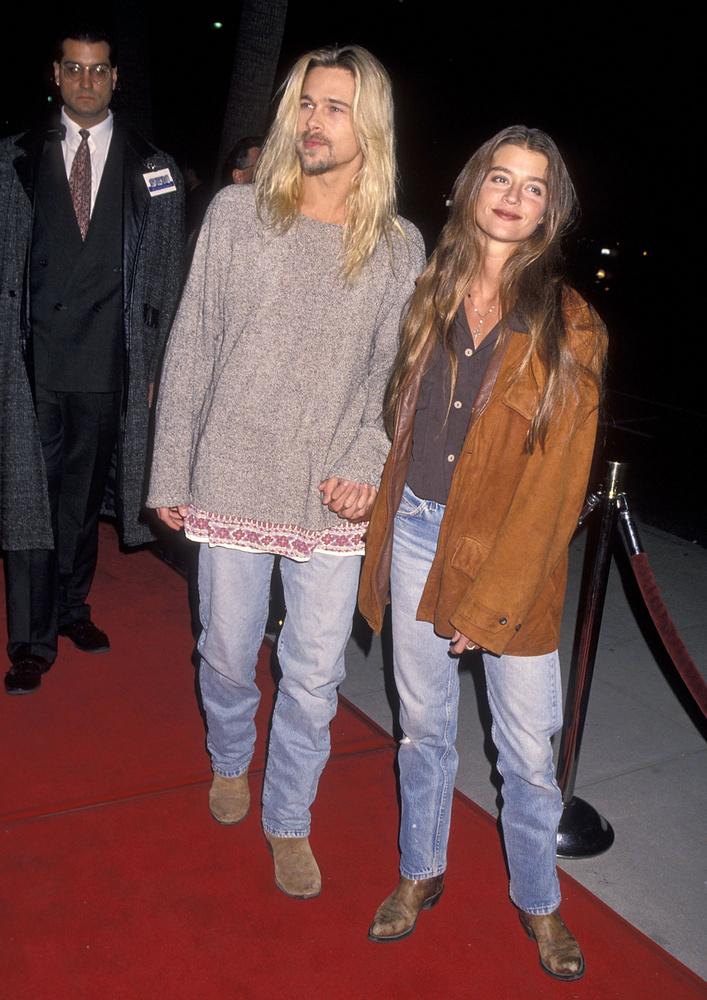Jitka PohlodekA modell is rövidke szakasz volt a színész életében - ahogy ez a frizura is