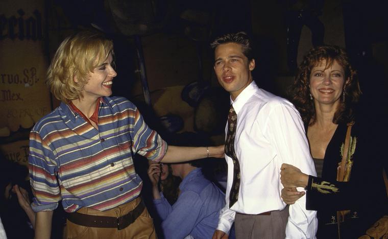 Geena DavisÍme Geena Davis, Brad Pitt és Susan Sarandon