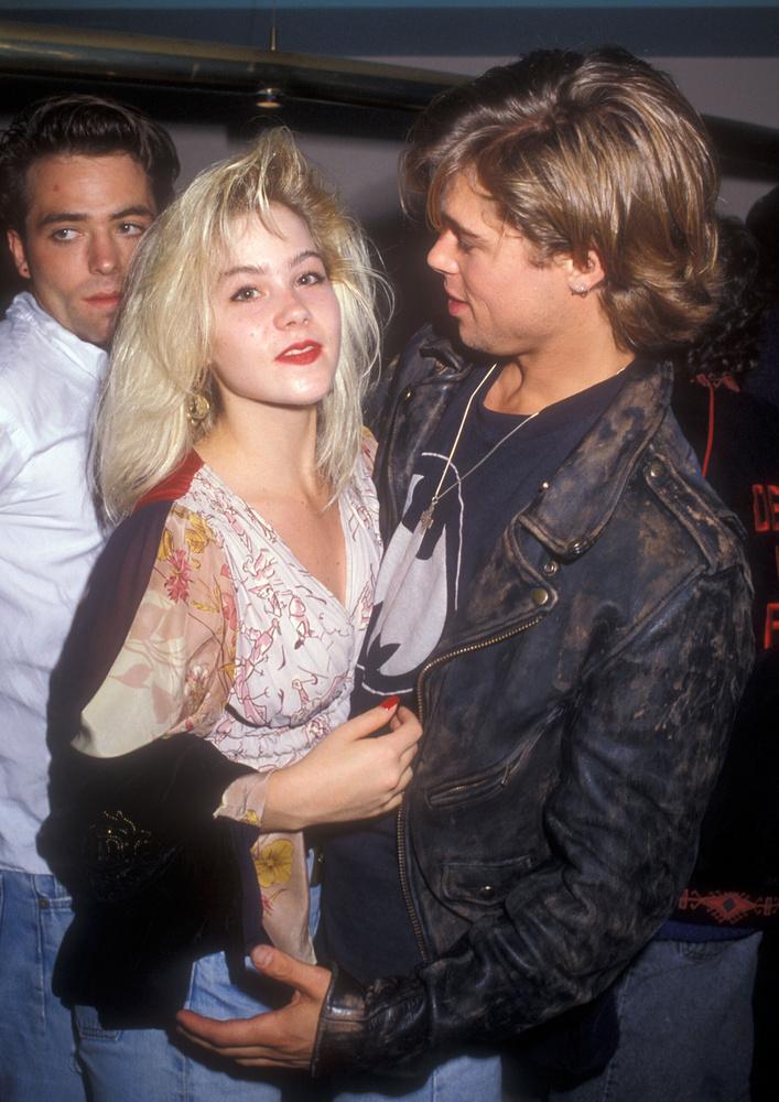 Christina ApplegateA Rossz anyák sztárja szintén azok között a nők között van, akik nem látták igazán a lehetőséget a fiatal Brad Pittben