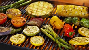Parmezános, balzsamecetes grillzöldségek – könnyű, olaszos köret a vörös húsok mellé