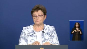 Müller Cecília: Folytatni lehet az iskolai oltási programokat - az operatív törzs május 21-i tájékoztatója