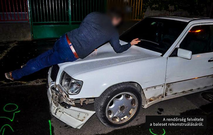 A baleset rekonstruálása