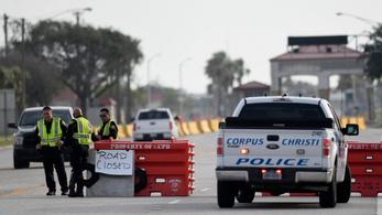 Terrorista merényletet hajtott végre egy férfi a texasi Corpus Christiben