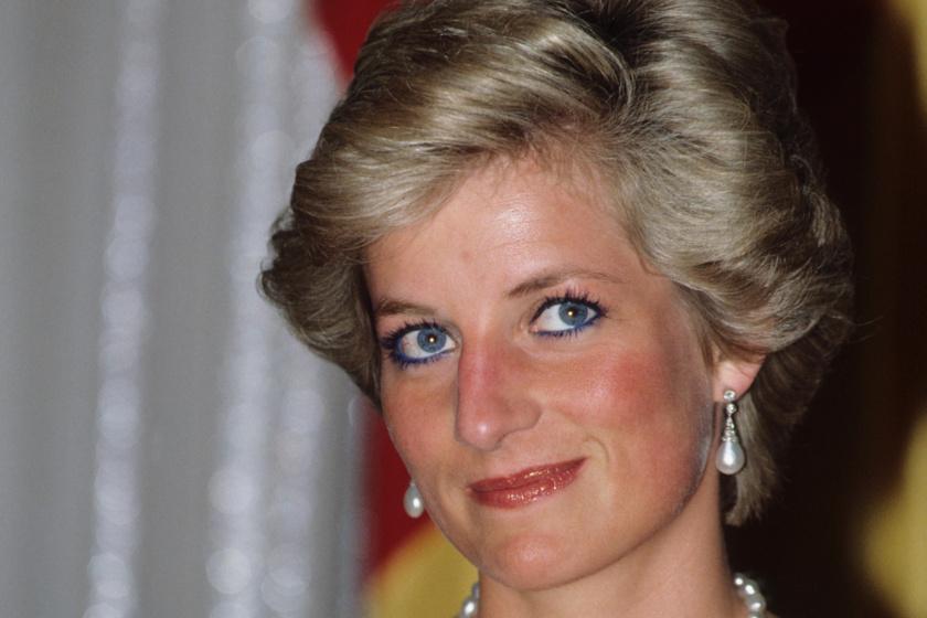Diana hercegnő  csodásan festett babakék estélyi ruhájában: ellopta a show-t a cannes-i filmfesztiválon