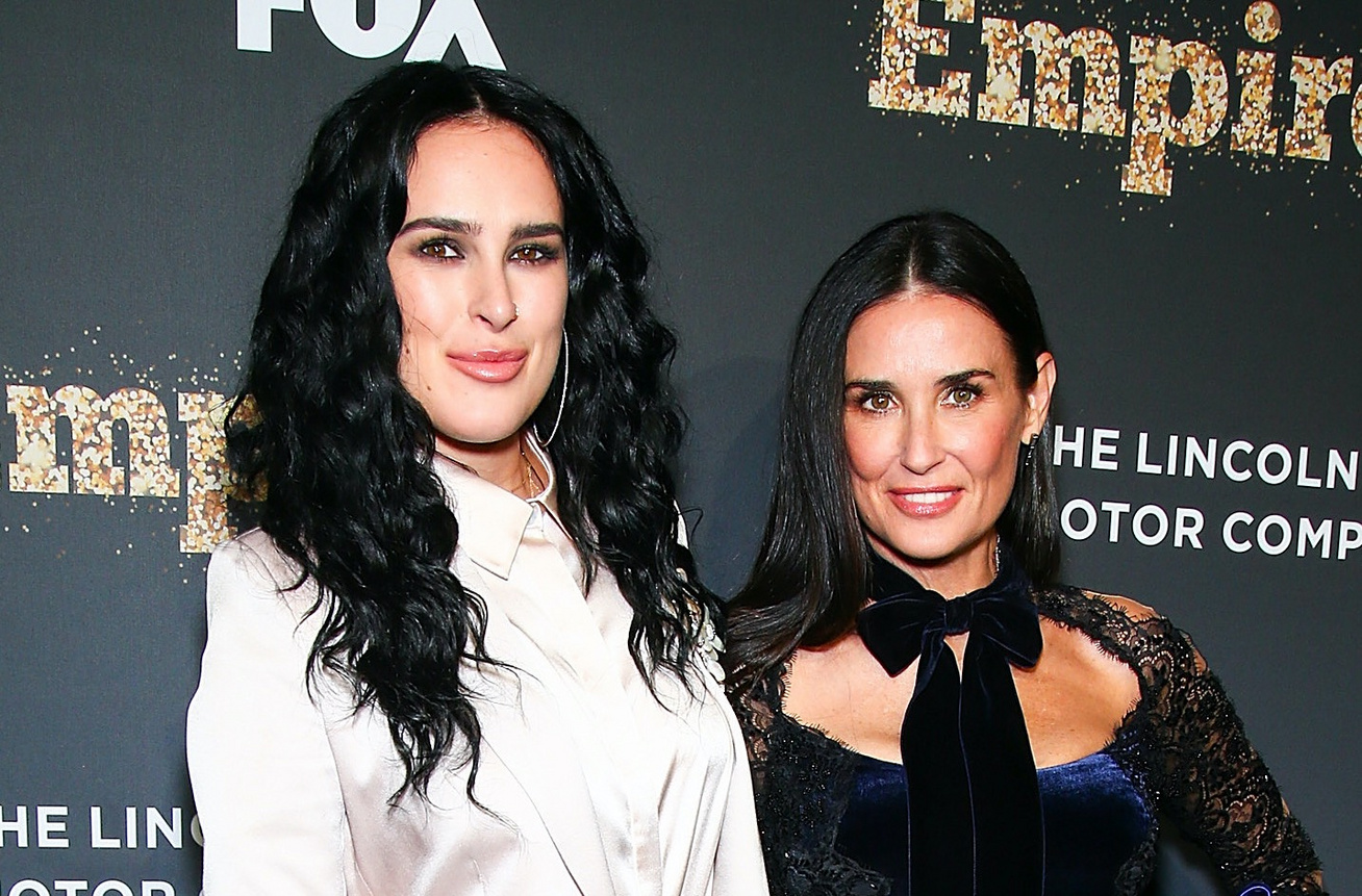 rumer willis és demi moore cover