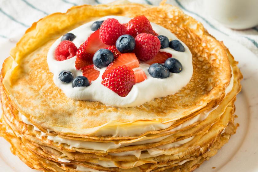 Puha palacsinta extra vaníliával – Már az illata is csábít