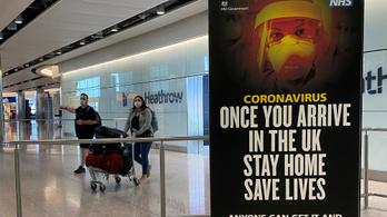 400 ezer forintra büntetnék azokat, akik az Egyesült Királyságba érkezve nem tartják a karantént